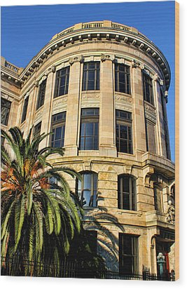 Old Courthouse-new Orleans Wood Print