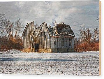 Old Dreams Wood Print by Cheryl Cencich