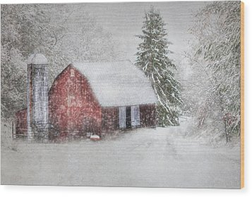 Old Fashioned Christmas Wood Print by Lori Deiter