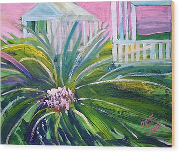 Old Florida Wood Print by Patricia Taylor