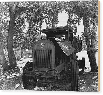 Wood Print featuring the photograph Old Ford Work Truck by William Havle