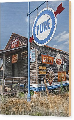 Wood Print featuring the photograph Old General Store by Marion Johnson