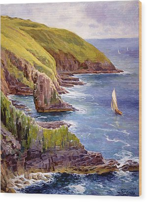 Old Head Of Kinsale  Wood Print