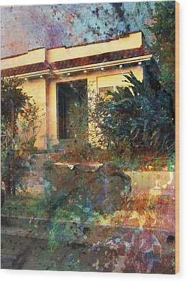 Wood Print featuring the photograph Old Home Art  by John Fish
