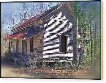 Old Home Place Wood Print