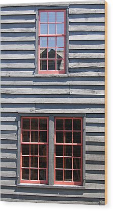 Wood Print featuring the photograph Old House Greenfield Village Michigan by Mary Bedy