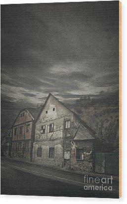 Old House Wood Print by Jelena Jovanovic