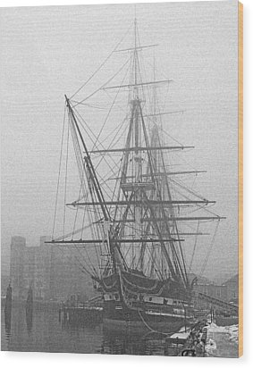 Old Ironsides 1001 Wood Print
