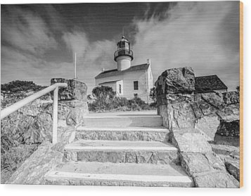 Wood Print featuring the photograph Old Light House by Robert  Aycock