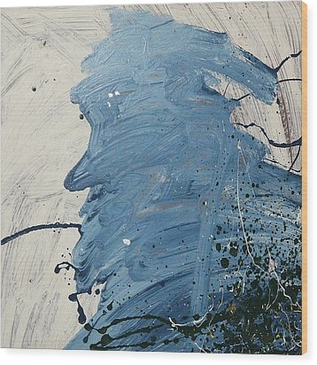 Old Man Blues  C1986 Wood Print by Paul Ashby