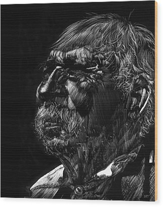 Old Man Wood Print by Michele Engling