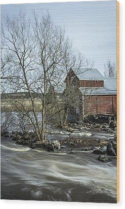 Old Mill 3 Wood Print by Matti Ollikainen
