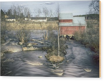 Old Mill 4 Wood Print by Matti Ollikainen