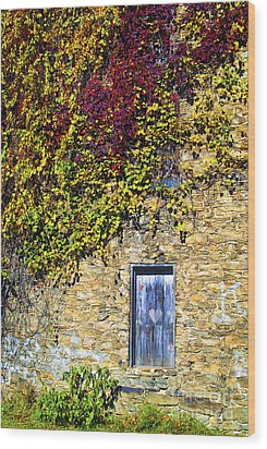 Old Mill Door Wood Print by Paul W Faust -  Impressions of Light