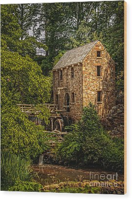 Old Mill 3 Wood Print