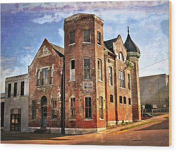 Old Mill Museum Wood Print by Marty Koch