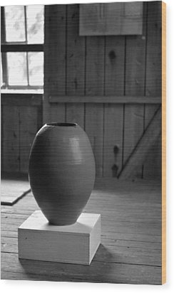 Old Pot   Wood Print by Tommytechno Sweden
