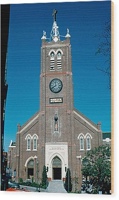 Old Saint Mary's 1956 Wood Print by Cumberland Warden
