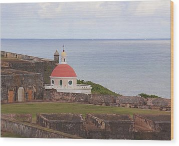 Old San Juan Wood Print by Daniel Sheldon