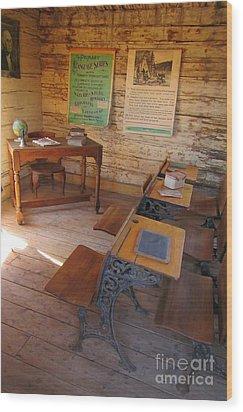 Old School Wood Print by John Malone