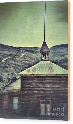 Old Schoolhouse Wood Print by Jill Battaglia