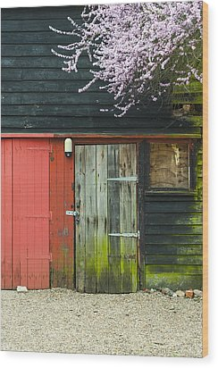 Old Shed Wood Print by Svetlana Sewell