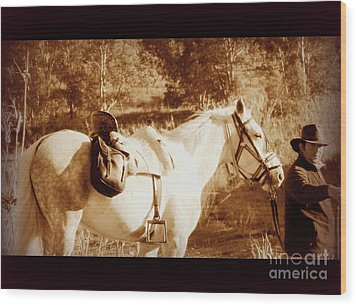 Wood Print featuring the photograph Old Spain by Clare Bevan