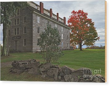 Old Stone House Wood Print by Charles Kozierok