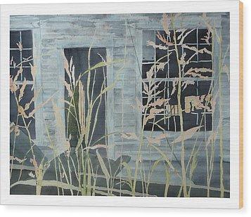 Old Store At June Bug Road Wood Print by Joel Deutsch