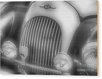 Wood Print featuring the photograph Old Time Car 2 by John S