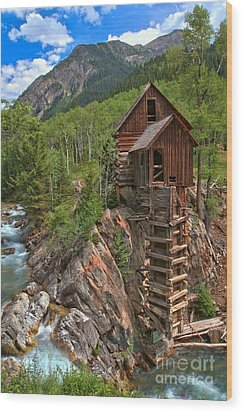 Old Time Colorado Wood Print by Adam Jewell