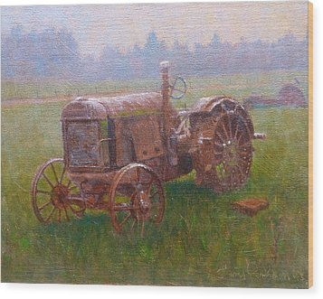 Old Timer Canterbury Wood Print by Terry Perham