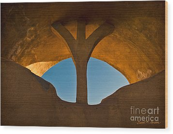 Old Town Archway No. 1 Wood Print by David Gordon