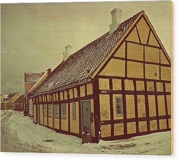 Old Town Wood Print by Odd Jeppesen