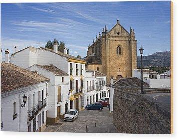 Old Town Of Ronda Wood Print by Artur Bogacki