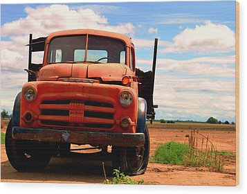 Wood Print featuring the photograph Old Truck by Matt Harang