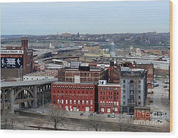 Old West Bottoms Kcmo Wood Print by Liane Wright