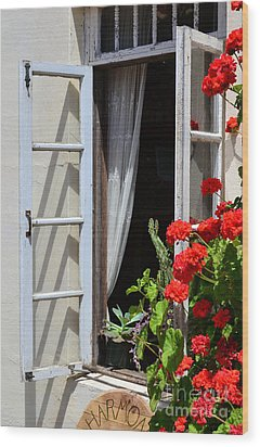 Wood Print featuring the photograph Old Window by Debby Pueschel