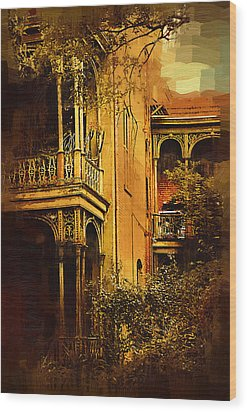 Old World Charm Wood Print by Kirt Tisdale