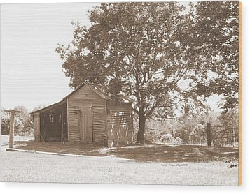 Ole Homeplace Wood Print