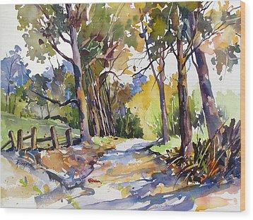 Olinda Trees Maui Wood Print