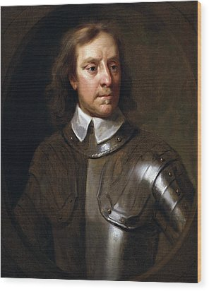 Oliver Cromwell Wood Print by War Is Hell Store