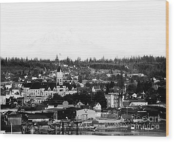 Olympia View 1910c Wood Print
