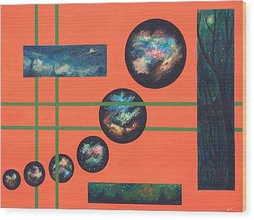 Omega Point Wood Print