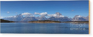 On A Clear Day Wood Print by Beve Brown-Clark Photography
