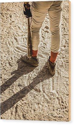 On Deck Wood Print by Diane Diederich
