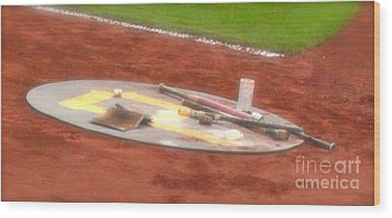 On Deck Wood Print by Jay Nodianos