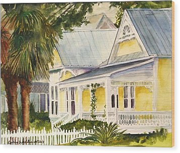 On East Laurel Wood Print