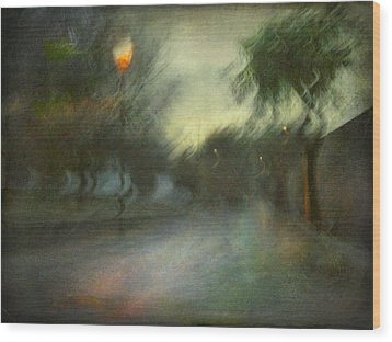 Wood Print featuring the photograph On The Road #12. Xynthia's Trail by Alfredo Gonzalez