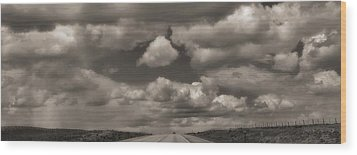 On The Road Again Wood Print by Dan Sproul